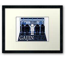 Gaijin in Tokyo Framed Print