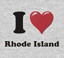 I Heart / Love Rhode Island by HighDesign
