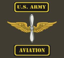 U.S. Army Aviation Branch ( t-shirt ) by Walter Colvin
