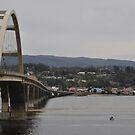 Coming Into Waldport Oregon by scenebyawoman