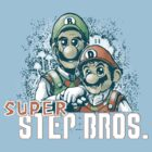Super Step Bros. by teevstee