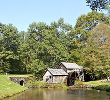 Mabry Mill by Kenny M. Davis
