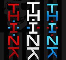 THINK AMERIKA by Blasphemy
