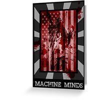 Machine Minds Greeting Card