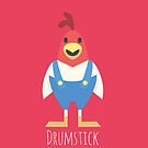 DKR Drumstick by gallantdesigns