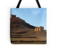 Ruins and Chapel Tote Bag