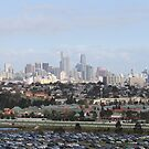 Melbourne From Ferris Wheel by Emma Holmes