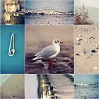 Beach Impressions Collage by syoung-photo
