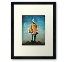 Mr. Universe Framed Print