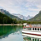 Waterton Lakes Boat Tour by Teresa Zieba