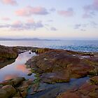 Sunset at Horseshoe Bay I by Lorraine Creagh