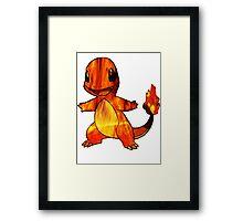 Fire-y charmander  Framed Print