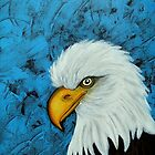 Sacred Bald Eagle by ClaudiaTuli