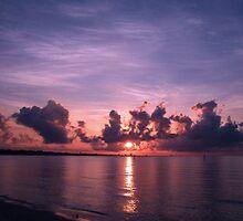 Gulf Coast Sunrise by Brian Wright