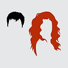 Minimalist Will &amp; Grace by Adam Grey