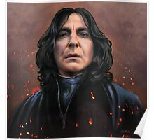 Severus Snape faces the Dark Lord Poster