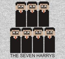 The 8 Bit 7 Potters by FandomPeasantry