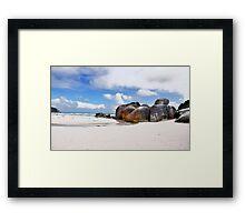 Squeaky Beach Vic Framed Print