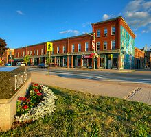 Mercantile Block Sussex New Brunswick Canada by Jamie Roach
