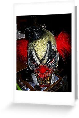 Evil Clown by starlite811