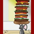 Mouse Burger by Tiffany Muff