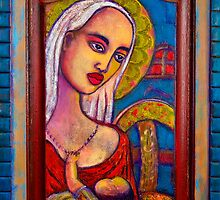 Mary with Baby Jesus by Barbara Holland
