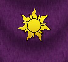 Tangled Kingdom Sun Emblem 1 by Jeffery Borchert