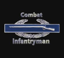 Combat Infantryman T-shirt by Walter Colvin