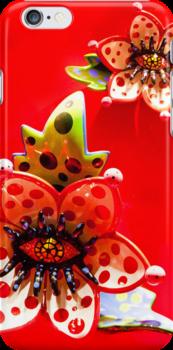 Monster Flower II by Tiffany Muff