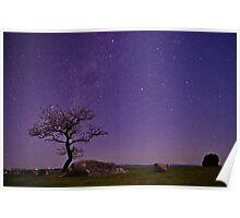 """Stellar Evening At The Rocks"" Poster"