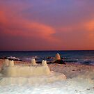 &quot;Aruba Beach Sandcastle&quot;  by Carter L. Shepard by echoesofheaven