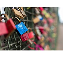 The Love Locks Photographic Print