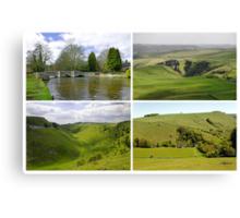 Peak District Landscapes 01-Plain  Canvas Print
