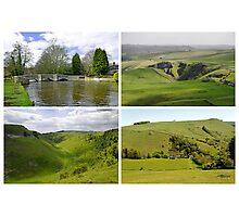 Peak District Landscapes 01-Plain  Photographic Print
