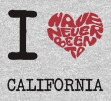 I Love California by FC Designs