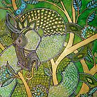 Green Tree Dragon by Lynnette Shelley