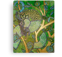 Green Tree Dragon Canvas Print