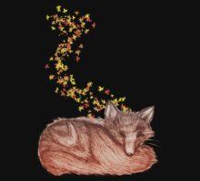 Fox (Autumnal) by Margybear