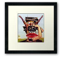 The Photographer Spotter. Framed Print