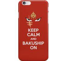Bakushipping iPhone Case/Skin
