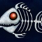 Red-Eyed Skeleton Fish by BittaSweetCandy