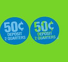 Deposit 2 Quarters II by PrinceRobbie