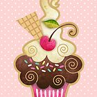 Scrumptious Cupcake by sandygrafik