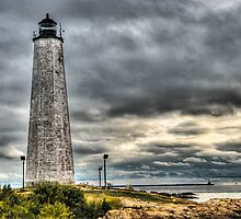 New Haven Lighthouse Point by Tom Piorkowski