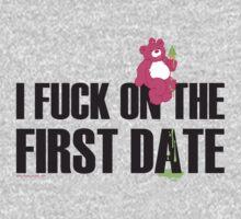FIRST DATE TEE SHIRT !!!! by homopunkdotcom