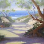 Beach Pathway by Tash  Luedi Art