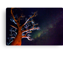 Reaching for the Milkyway Canvas Print