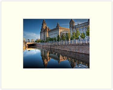 "The ""Three Graces"" in Liverpool by NeilAlderney"