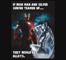 Iron Man & Silver Surfer Team Up by jtbentley