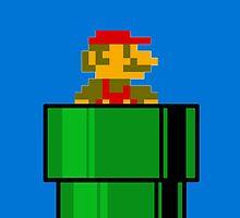 8-bit Mario by kjharmon3